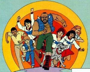 Mister T Kids Cartoon Complete 30 Episodes DVD Set 1983-86 Mr T