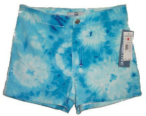 Tye Dyed Blue Shorts - NEW - Size Girls 14 - Retail $30