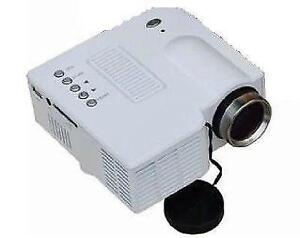 """60"""" Pocket Mini LED Projector Cinema Home Theater Support HDMI+V"""