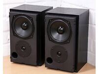 MISSION 760i SPEAKERS IN MINT CONDITION COMPLETE WITH GRILLS