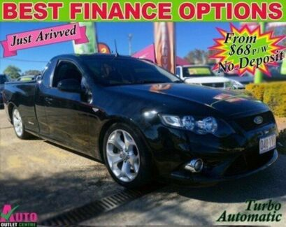 2009 Ford Falcon FG XR6 Ute Super Cab Turbo Black 6 Speed Sports Automatic Utility