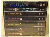 Babylon 5 complete box sets