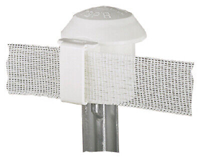 Electric Fence T-post Safety Cap White 10-pk.