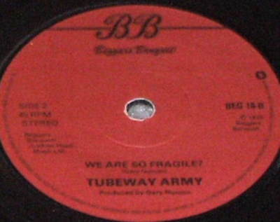 TUBEWAY ARMY Are Friends Electric 45 UK IMPORT RECORD