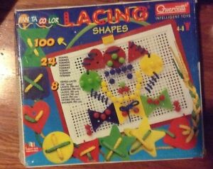 Guercetti lacing shapes set for sale