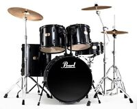 Pearl Drumset + 3 Cymbals!