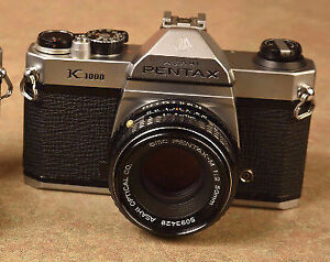 Pentax k1000 excellent film camera, tested