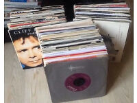Job Lot 500 Singles & 200 LPs Various Genre asking 20p for singles and 50p LPS