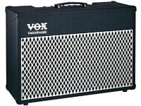 FOR SALE - VOX VALVETRONIX 50 WATT GUITAR COMBO AMPLIFIER WITH FOOT SWITCH BOARD