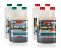 Canna Aqua 4-pack Deluxe Hydroponic Nutrient Bundle
