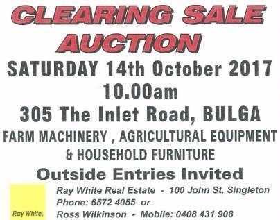 CLEARING   SALE   AUCTION