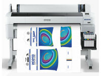 Epson F-6000 Sublimation printer and related business equipment for sale.