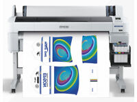 Epson F-6000 Sublimation printer, and related business equipment for sale. Offers invited!