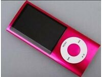 BRAND NEW 32GB MP3/4 PLAYER IN PINK 5 HOURS BATTERY