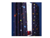 Catherine lansfeild space themed curtains *nearly new*