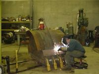 Welding & Fabrication ( digger, tractor, trailer)