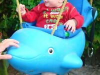 Toddler Dolphin swing seat