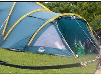 4 man tent lots of room