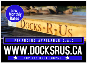 We will finance your new Floating Docks!!