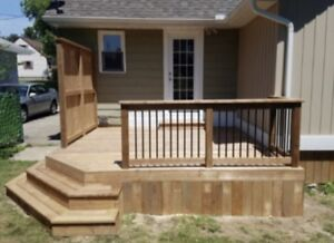 Decks, fences, Pergolas, sheds and more !!