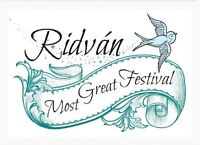 Location change! Festival of Ridvan