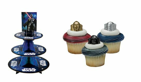 NEW WILTON STAR WARS CUPCAKE STAND COMBO