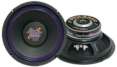 1 New Pyramid WH88 8'' 250 Watt High Power Paper Cone 8 Ohm Subwoofer Sub High Power Paper Cone