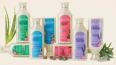 Jason Organic Shampoo hair aloe vera biotin tea tree lavender dandruff Jojoba Jason Organic Lavender Shampoo