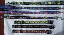 Cartoon Superhero dog collars and leads Blue Haven Wyong Area Preview