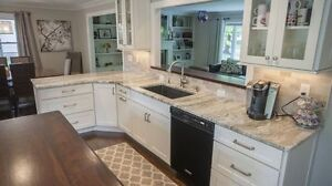 SALE ! Kitchen countertop starts from $39.99/sqft on our popular granite or quartz colors