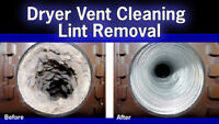 AIR DUCT, CENTRAL VAC,DRYER VENT CLEANING