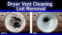 Air Duct, Dryer Exhaust, Central Vac Cleaning