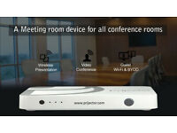 How do I do web conference with HD video using Prijector?