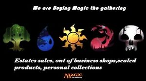 Buying magic the gathering  Achete cartes magic