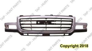 Grille Chrome/Black 2500/3500 GMC Sierra 2003-2007