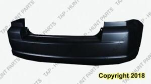 Bumper Rear Primed Without Exhaust Dodge Caliber 2007-2012