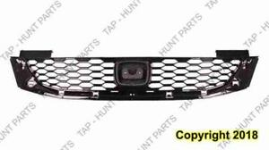 Grille Painted-Black Coupe Honda Accord 2013-2015
