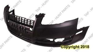 Bumper Front Without H/Lp Wash Hole Without Sport Package Primed Audi A4 2005-2008