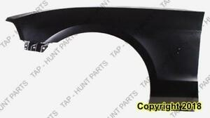 Fender Front Driver Side Without Moulding Base/Gt CAPA Ford Mustang 2013-2014