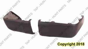 Bumper End Rear Driver Side Primed Without Sensor Hole Awd/Rwd Toyota Tundra 2014-2017