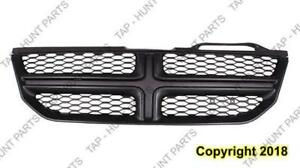 Grille Painted Frame With Black Insert Dodge Journey 2011-2016