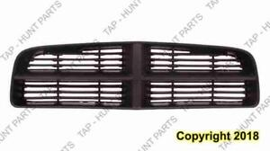 Grille Matt Black With Painted Gray Frame Without Srt-8 Model Dodge Charger 2006-2010