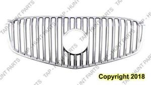 Grille Chrome Without Moulding Without Emblem [Cxl 2008-2009] [All Models 2010-2011] Buick Lucerne