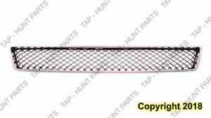 Grille Lower Matt-Black With Chrome Frame Without Off Road Package Chevrolet Tahoe 2007-2014