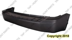 Bumper Rear Primed Without Parking Sensor With Trailer Hitch Capa Jeep Liberty 2008-2012