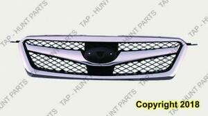 Grille Chrome/Black Sedan Subaru Legacy 2010-2012