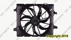 Radiator Fan Assembly (3.6/5.7L) For Models Without Heavy Duty Cooling Package Jeep Grand Cherokee 2011-2017