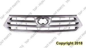 Grille Black Toyota Highlander 2011-2013