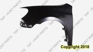 Fender Front Driver Side Without Side Lamp Hole Steel CAPA Volkswagen Golf 2010-2014