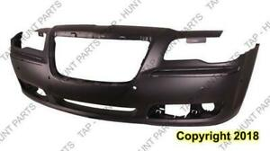 Bumper Front With Sensor Hole Primed Exclude Srt-8 Chrysler 300 2011-2014